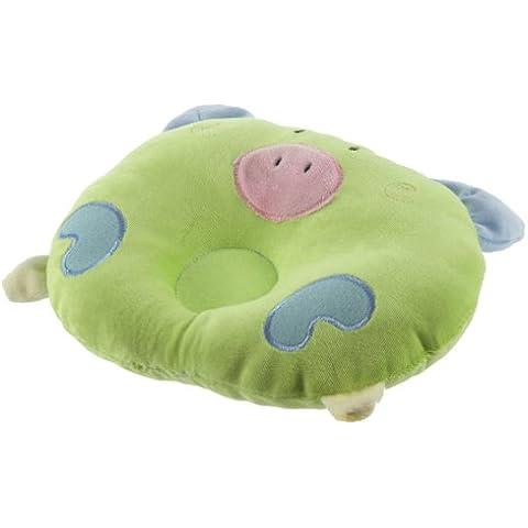 Liroyal–Morbido cotone bambino neonato Toddler sonno cuscino di supporto Prevenire testa piatta a croce regalo