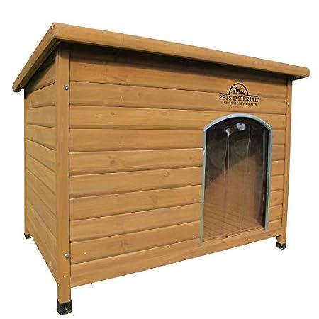 Pets Imperial® Haustiere Imperial® Extra Large Isoliert Holz Norfolk Hundehütte Mit Abnehmbarem Boden Für Einfache…