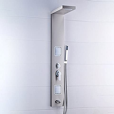 Shower Taps,Stainless Steel Primary Color Drawing L Shower Faucet Split