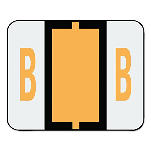 Smead BCCR Bar Style Color Coded Labels B - Light Orange 500pieza(s) - Etiqueta autoadhesiva (31,8 mm, 25,4 mm, 500 pieza(s), 1 hojas)