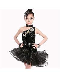 ec5d4c03c064e Concurso de belleza de chicas Niños Niños Escenario Rendimiento Competición  Salón de baile Vestido latino Traje