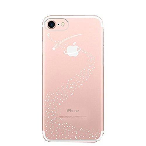 "Qissy® iPhone 7 Funda Ultra delgado Carcasa iPhone 7 Case Cover Dibujos Animados Suave Funda para Apple iPhone 7 4.7"""