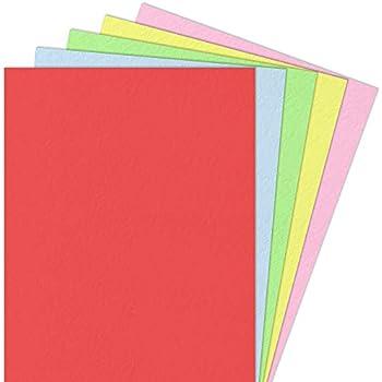 Fixo 11110360 Confezione di 50/cartoncini colore: giallo A4