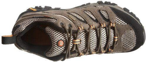 Merrell Moab Gore-Tex, Men's Lace-Up Trekking and Hiking Shoes – Brown (Walnut), 10 UK (44.5 EU)