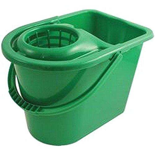 KD Jay Eimer zu Wischmop Flüssigkeit vert-seau für Besen mit Fransen, 15L, grün, Behälter aus Kunststoff, Volumen: 15l