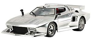 Tamiya 25418 25418-1:24 Lancia Stratos Turbo Silver - Maqueta de construcción de plástico (sin lacar)