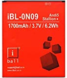 iWell Mobile Battery for iBall Andi 5 Stallion Plus iBL-ON09