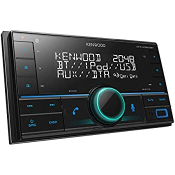 kenwood dpx 5100bt doppel din receiver mit bluetooth und ipod iphone steuerung schwarz amazon. Black Bedroom Furniture Sets. Home Design Ideas