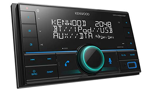 Kenwood DPX-M3200BT 2-DIN USB-Autoradio mit Bluetooth Freisprecheinrichtung (Alexa Built-in, USB, AUX-In, Hochleistungstuner, Spotify Control, Soundprozessor, 4x50 Watt, Variable Tastenbeleuchtung)