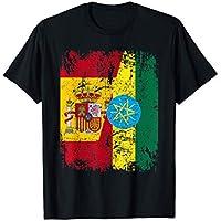 ETIOPÍA Camiseta ESPAÑA BANDERA de la AMISTAD ETIOPÍA Camiseta