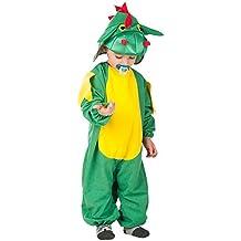 Carnival Toys 63034–Dragón, disfraz para bebé con capucha, 1–2años