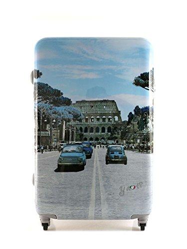 Valigia Trolley Medio 4 ruote Y Not - 1002 Weekend in Rome