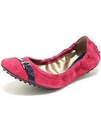 Tod s 9270 Ballerine Donna Fucsia Scarpe Scarpa Ballerina Donna Shoes Women 8a11e42ad85a