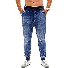 f08d148522 STRIR Hombre Deporte Pantalones Vaqueros Entrenamiento Fitness Jogger