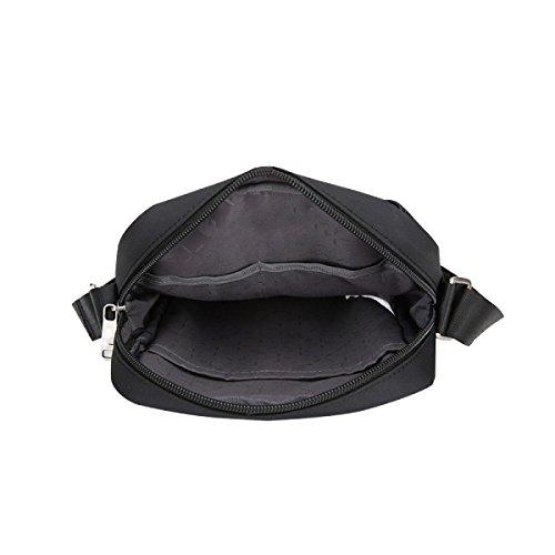 Yy.f Kurierbeutel Der Männer Multifunktionale Quer Flut Pakete Weibliche Beiläufige Sporttaschen Schultertaschen Mini-Taschen Einfarbig 3-Farben Grey