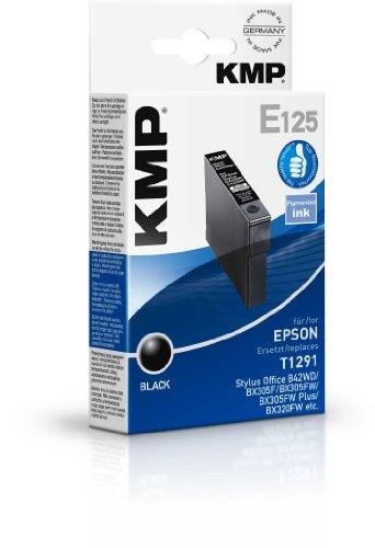 Preisvergleich Produktbild KMP E125 Tintenpatrone für Epson T1291 11,2ml schwarz