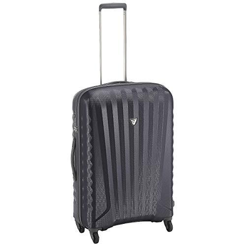 Moyenne Erigé quatre roues - Roncato Uno polycarbonate postal avec la TSA - 2,8 kg
