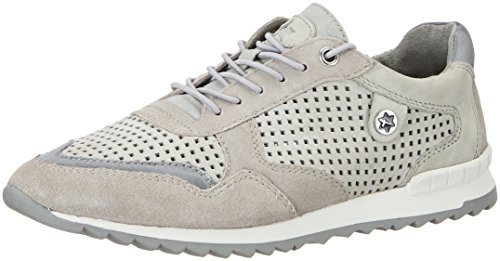 Tamaris Damen 23631 Sneakers, Grau (Cloud Comb 225), 40 EU