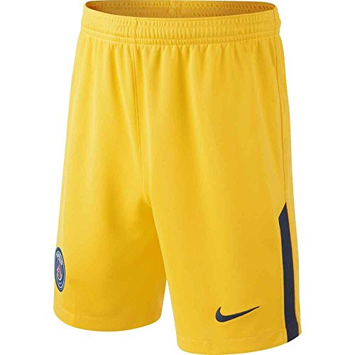 Nike performanceparis Saint Germain Dry – Pantalones cortos deportivos –  Tour Yellow/Midnight Navy