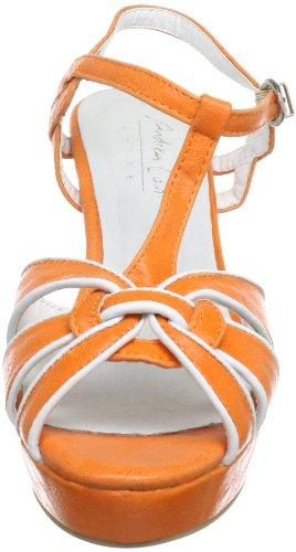 Andrea Conti 0365306, Sandali donna Arancione (Orange (orange 025))
