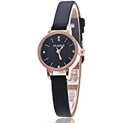 FEITONG Woman Mens Retro Design Alloy Band Analog Alloy Quartz Wrist Watch