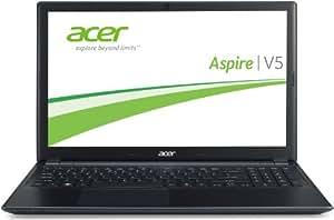 Acer Aspire V5-571G-32364G32Makk 39,6 cm (15,6 Zoll) Thin & Light Notebook (Intel Core i3-2367M, 1,4GHz, 4GB RAM, 320GB HDD, GT620M, DVD, Win 7 HP), schwarz