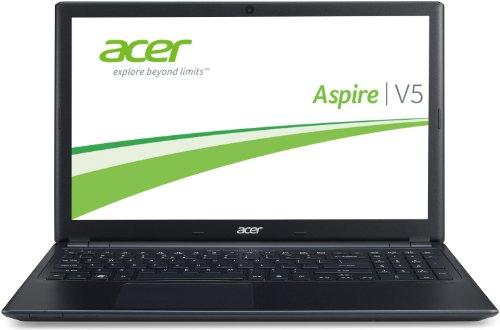 Acer Aspire V5-551-64454G50Makk 39,6 cm (15,6 Zoll) Thin & Light Laptop (AMD A6-4455M, 2,1GHz, 4GB RAM, 500GB HDD, Radeon HD 7500G, DVD, Win 8) schwarz (Amd-bluetooth-laptops Acer)