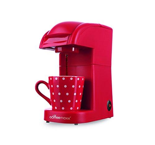 TV Unser Original 5306 - Cafetera de cápsulas, 550 W, color rojo