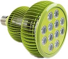 Planta lámpara TaoTronics-LED planta lámpara 36W E27vollspektrum Crecimiento Luz de día Planta-Lámpara para jardín Invernadero Plantas Flores Flores gemüsse