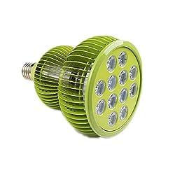 Pflanzenlampe TaoTronics LED Pflanzenlampen 36W E27 Wachstum Tageslicht Pflanzenleuchte für Garten Gewächshaus Zimmerpflanzen Blüte Blume Gemüsse