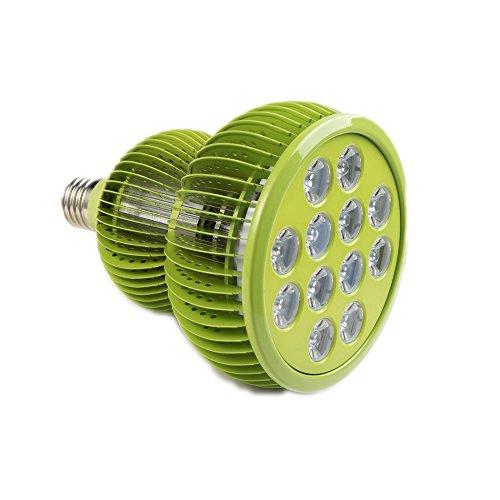 Pflanzenlampe TaoTronics LED Pflanzenlampen 36W E27 vollspektrum Wachstum Tageslicht Pflanzenleuchte für Garten Gewächshaus Zimmerpflanzen Blüte Blume Gemüsse | Garten > Gewächshäuser | TaoTronics