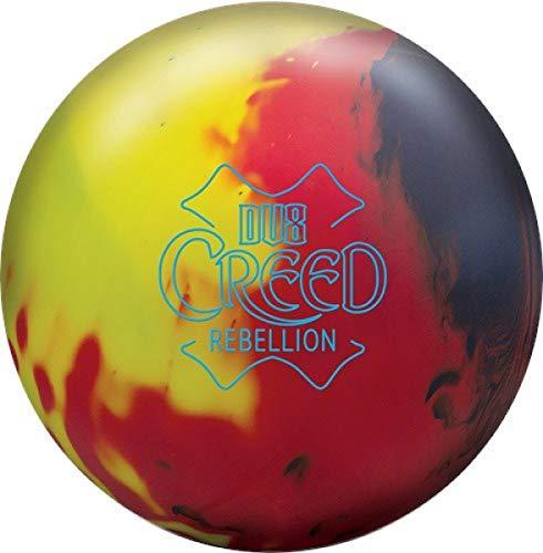 Rot/Gelb/Blau Solid Oberfläche, Reaktiv Bowlingkugel für Einsteiger und Turnierspieler - inklusive 100ml EMAX Ball-Reiniger Größe 12 LBS ()