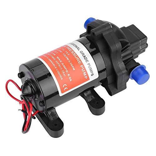 lahomie Automatische Wasserpumpe, 12 V, 3,5 GPM, 45 PSI Hochdruck-Membranpumpe (Gpm Motor)