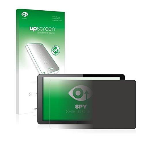 upscreen Spy Shield Clear Blickschutzfolie / Privacy für i.onik Global Tab L1001 (Sichtschutz ab 30°, Kratzschutz, selbstklebend)