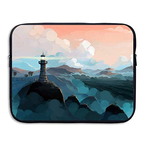 Laptop Sleeve Bag Lighthouse Cover Computer Liner Package Protective Case Waterproof Computer Portable Bags -