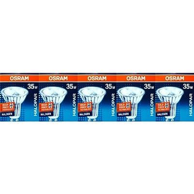 5 Stück Osram 64820 FL HALOPAR16 ALU Halogen-Reflektor 230V GU10 35W von Osram bei Lampenhans.de