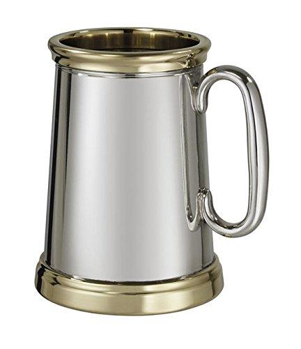 1-pint-x-range-wortley-brass-trim-pewter-tankard-with-free-engraving-by-macdonald-sporrans
