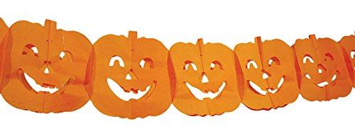 Ghirlanda decorazione zucca halloween (4 m)