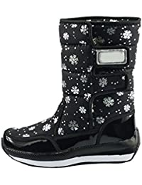 LvRao Mujer zapatos para ir a la nieve botas de nieve para invierno impermeables calzado para trekking