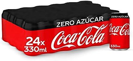 Coca-Cola Zero Azúcar Lata - 330 ml (Pack de 24)