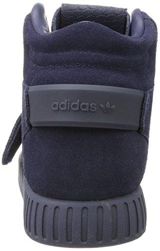 Adidas Bracelet Invader Tubulaire, Scarpe Sportive Uomo Blu (bleu Trace / Chaussures Blanc)