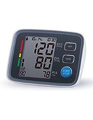 Automático de brazo tipo tensiómetro con Bluetooth, pantalla LCD, el error de más o