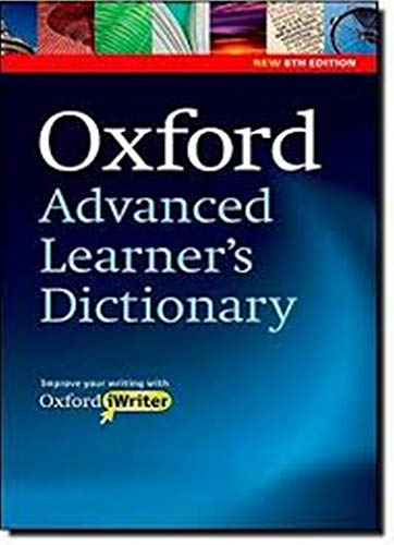 Oxford Advanced Learner's Dictionary, 8th Edition: Oxford Advanced Learner's Dictionary: Paperback with CD-ROM (includes Oxford iWriter) 8th Edition (Diccionario Oxford Advanced Learners)