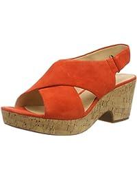 32ef60d1b0f69 Amazon.es  Naranja - Sandalias de vestir   Zapatos para mujer ...