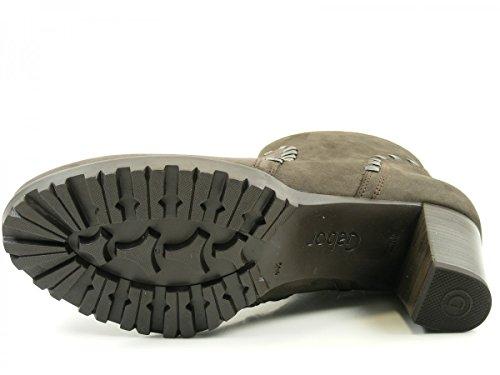 Gabor Shoes Comfort Sport, Stivali Donna, 47 EU Grigio (Vulcano Micro)