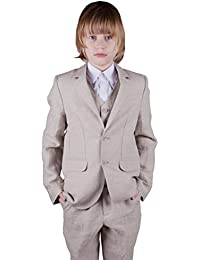 Disfraz para niño 3 piezas, color beige