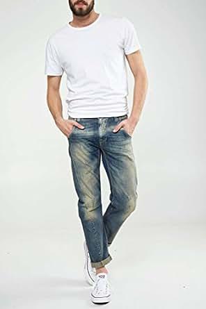 Jeans Mp/wk03 Meltin Pot Bleu Denim T31 L30