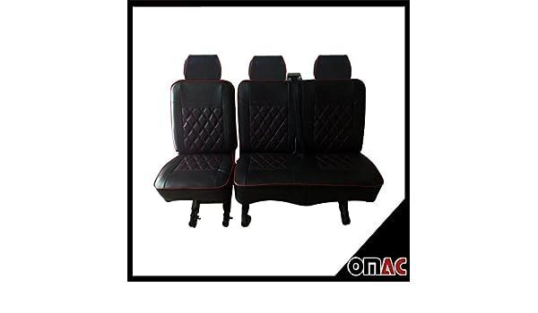 Sitzbezüge Schonbezüge Sitzbezug Kunstleder für VW Transporter T5 Practical DV1
