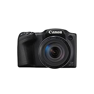 "Canon PowerShot SX420 IS - Cámara Digital compacta de 20 MP (Pantalla de 3"", Zoom óptico de 42x, NFC, WiFi), Color Negro"