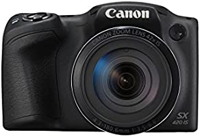 Canon PowerShot SX420 IS Fotocamera Bridge Digitale, 20 Megapixel, Nero/Antracite